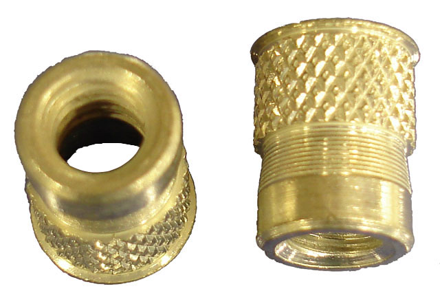 6 32 Swage Style Blind Rivet Nut Knurled Body
