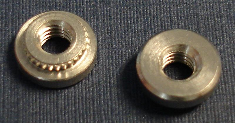 SKF CD nuts for PC board