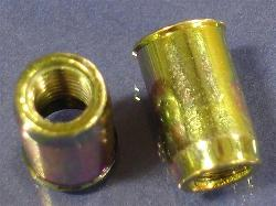 Rivet Nut, Small Flange, Smooth Body
