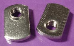 20 Pack 1//4-20 Spot Weld Nuts Double Tab Center Hole Design Spot Weld Nut Low-Carbon Steel 20