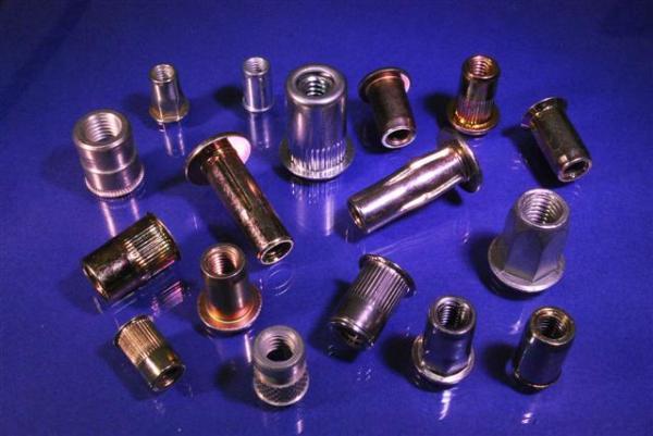 6mm Brass Thread Rubber Rivnuts Rivet Nutserts Rubnuts Insert Nuts M6