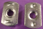 Dual Rib Projection Tab Weld Nut