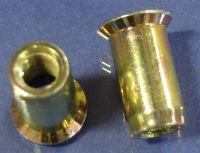 Rivet Nut, Countersink, Smooth Body