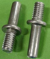 1/4-20 Arc Collar Weld Studs - Inch / Metric