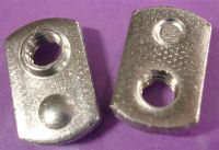 1/4-28 Single Projection Tab Weld Nut